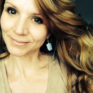 Me and my Tardis earrings. Dr. Who, anyone?